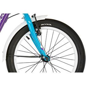 s'cool niXe 18 3-S alloy Kids, violet/blue